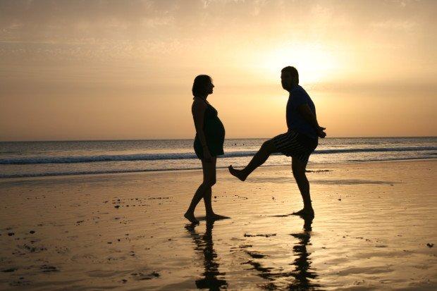 Una puesta de sol, una playa preciosa, la felicidad... el viaje de tu vida.
