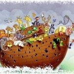 Comedia bíblica: ¿Qué hizo Noé durante los 40 días que estuvo en el arca?