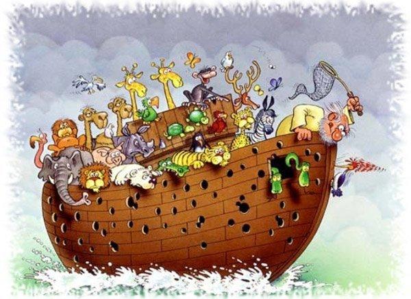 El infierno que pasé Noé durante el diluvio universal