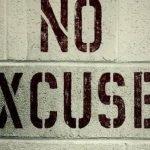 ¿Cuál es tu excusa para no escribir?